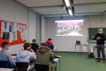 Europäische Videokonferenz am Gymnasium Ernestinum