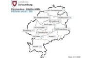Corona: 7-Tages-Inzidenz für den Landkreis Schaumburg sinkt auf 96,9
