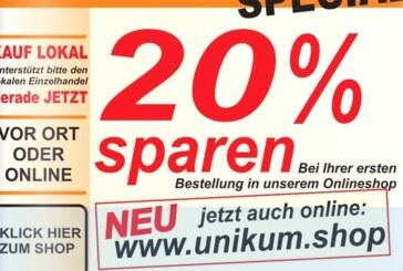 Unikum Rinteln: Feinkost-Abteilung weiterhin geöffnet / Geschenke im Online-Shop bestellen