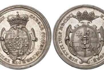 Feierliches Silber: Museum Eulenburg erwirbt Gedenkmedaille von 1721