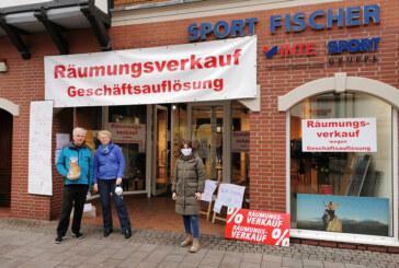 """""""Sport Fischer"""" schließt Geschäft: Pro Rinteln verabschiedet langjähriges Mitglied"""