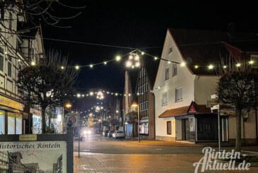 Straßensperrungen wegen Abbau der Weihnachtsbeleuchtung