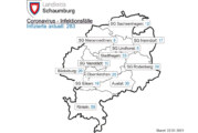 Corona-Inzidenz im Landkreis Schaumburg liegt aktuell bei 100,7