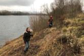 Freie Sicht auf die Natur in der Auenlandschaft