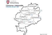 Aktuelle Corona-Inzidenz in Schaumburg beträgt 109