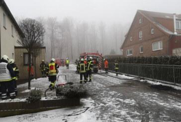 Feuerwehreinsatz in Goldbeck