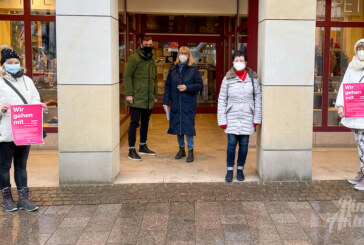 """""""Wir gehen mit voran"""": Einzelhändler und Mitarbeiter mit erneutem Hilferuf"""