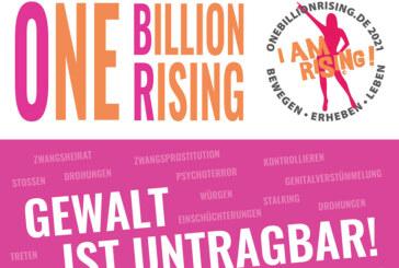"""Gewalt ist untragbar"": Aktionstag von ""One Billion Rising"" am 14. Februar"