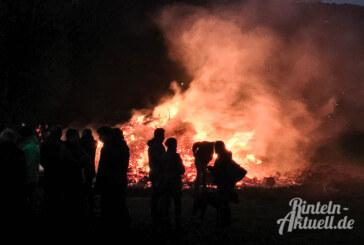 Osterfeuer finden auch in diesem Jahr nicht statt