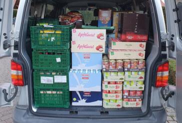 Aus Möllenbeck an die Rintelner Tafel: Lebensmittel für 1.145 Euro eingekauft