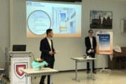 Nachhaltigkeit und Kundengewinnung: Angehende Industriekaufleute bearbeiten Volksbank- und Rolec-Projekte