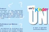 VHS Kinder-Uni für alle von 8 bis 12 Jahren