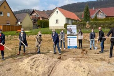 Spatenstich in Schaumburg: Bau des Kindergartens startet