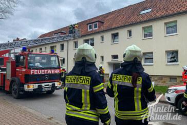 Rinteln: Feuerwehreinsatz wegen angebranntem Essen in der Schraderstraße