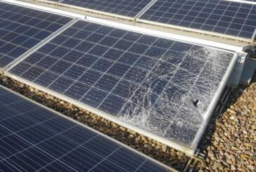 Schäden an Solaranlage nach Vandalismus: Fünf Module ausgetauscht