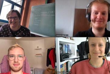 Studenten der Universität Hannover unterstützen Schüler der BBS Rinteln beim Lernen