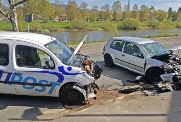 Rinteln: Aufs Handy geschaut, Unfall verursacht