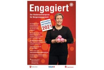 18. Niedersachsenpreis für Bürger-Engagement gestartet