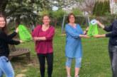 Gefüllte Rucksäcke als Dankeschön zum Tag der Kinderbetreuung