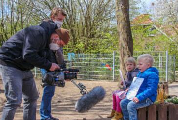 Dreharbeiten für Deutschen Kita-Preis in Kathrinhagen und Exten