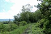 Spritzarbeiten auf der Eisenbahnstrecke Rinteln-Stadthagen