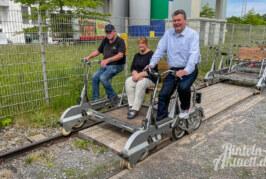Von Rinteln bis ins Extertal: Draisinen-Saison 2021 ist gestartet