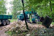 Schutzhütte am Hohenstein abgerissen