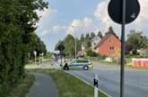 Extertalstraße wegen LKW-Bergung bei Bögerhof gesperrt