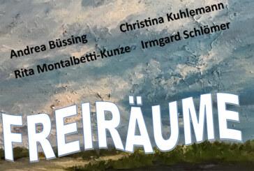 """""""Freiräume"""" in der Projektgalerie Alte Druckerei erleben"""