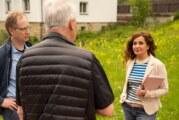 Reaktivierung der Schule und Ortsumgehung: Bürgermeisterkandidatin Doris Neuhäuser zum Gespräch in Steinbergen