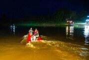 Eisbergen: Nächtliche Personensuche auf der Weser