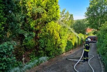 Feuerwehreinsatz in Friedrichswald