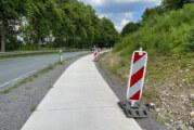 Bernser Landwehr: Restarbeiten an Radweg der L 443 durchgeführt