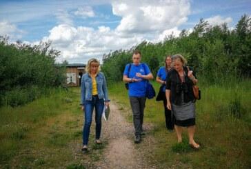 Hohenrode: Andrea Lange zu Besuch bei Auenlandschaft und Streuobstwiese