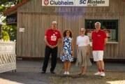 Doris Neuhäuser zu Besuch beim SC Rinteln