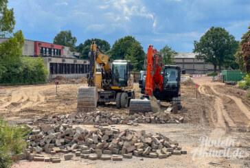 Ernestinum-Außengelände wird umgebaut: Zugänge und Verkehrsführung geändert