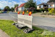 Straßenbauarbeiten in Ortsdurchfahrt Großenwieden starten