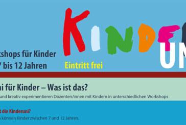 Kreativ-Workshops für Kinder von 7-12 bei der Kinderuni in Rinteln