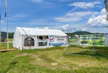 Ohne Terminvereinbarung: Corona-Schnelltests weiterhin am Doktorsee möglich