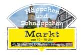 Häppchen- und Schnäpchen-Markt am 31. Juli in der Rintelner Innenstadt