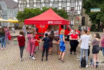 SPD-Bundestagsfraktion zu Besuch in Rinteln