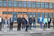 SPD-Kreistagsfraktion informiert sich über Academia Rinteln und IGS-Neubau
