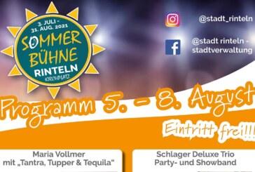 Die Rintelner Sommer-Bühne 2021: Das Programm vom 5. bis 8. August
