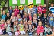 Kindergarten aus Möllenbeck zu Besuch im Tierpark Herford