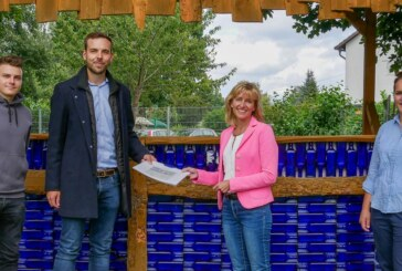 Bürgermeisterkandidatin Andrea Lange zu Besuch bei Wesertekk