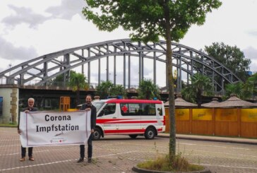 Rinteln: Sonder-Impfaktion des DRK auf Marktplatz und Weseranger