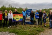 Jürgen Trittin zu Besuch in der Auenlandschaft Hohenrode