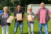 Vereinsmitglieder halten dem TSV Steinbergen die Treue: Ehrungen für Artur Böger, Hannelore Möller und weitere Sportler