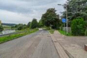 Radfahrer in Baustelle am Weserradweg gestürzt und schwer verletzt
