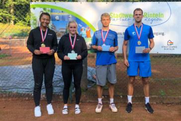 Rekordbeteiligung mit 55 Personen: Yu Shan und Niklas Gerdes gewinnen die 14. Rinteln Open